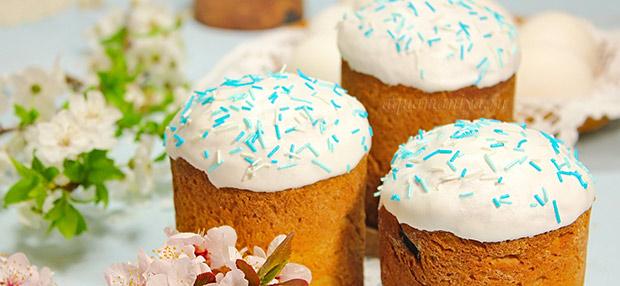 Как приготовить сахарно-белковую глазурь