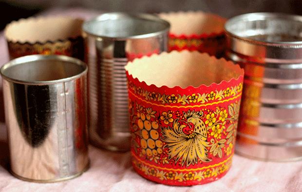 Формы для выпечки кулича дома