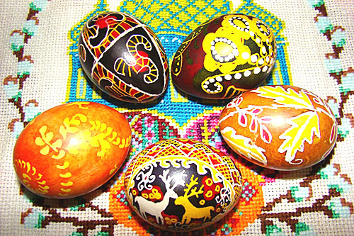 Яйца писанки в древности