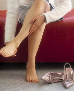 Появляются отеки в ногах
