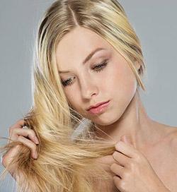 Сильное выпадение волос у женщины