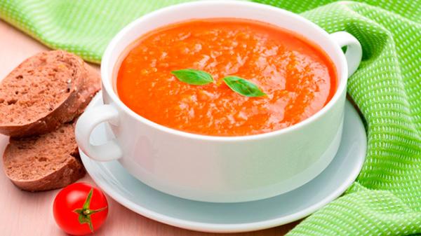 томатный суп для детей