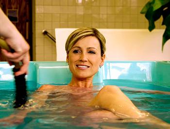 Лечебное действие радоновых ванн