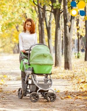 Прогулка с коляской после родов