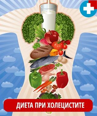 Диета при хроническом бескаменном холецистите и режим принятия пищи