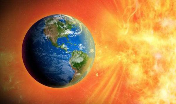 Мощные магнитные бури на солнце